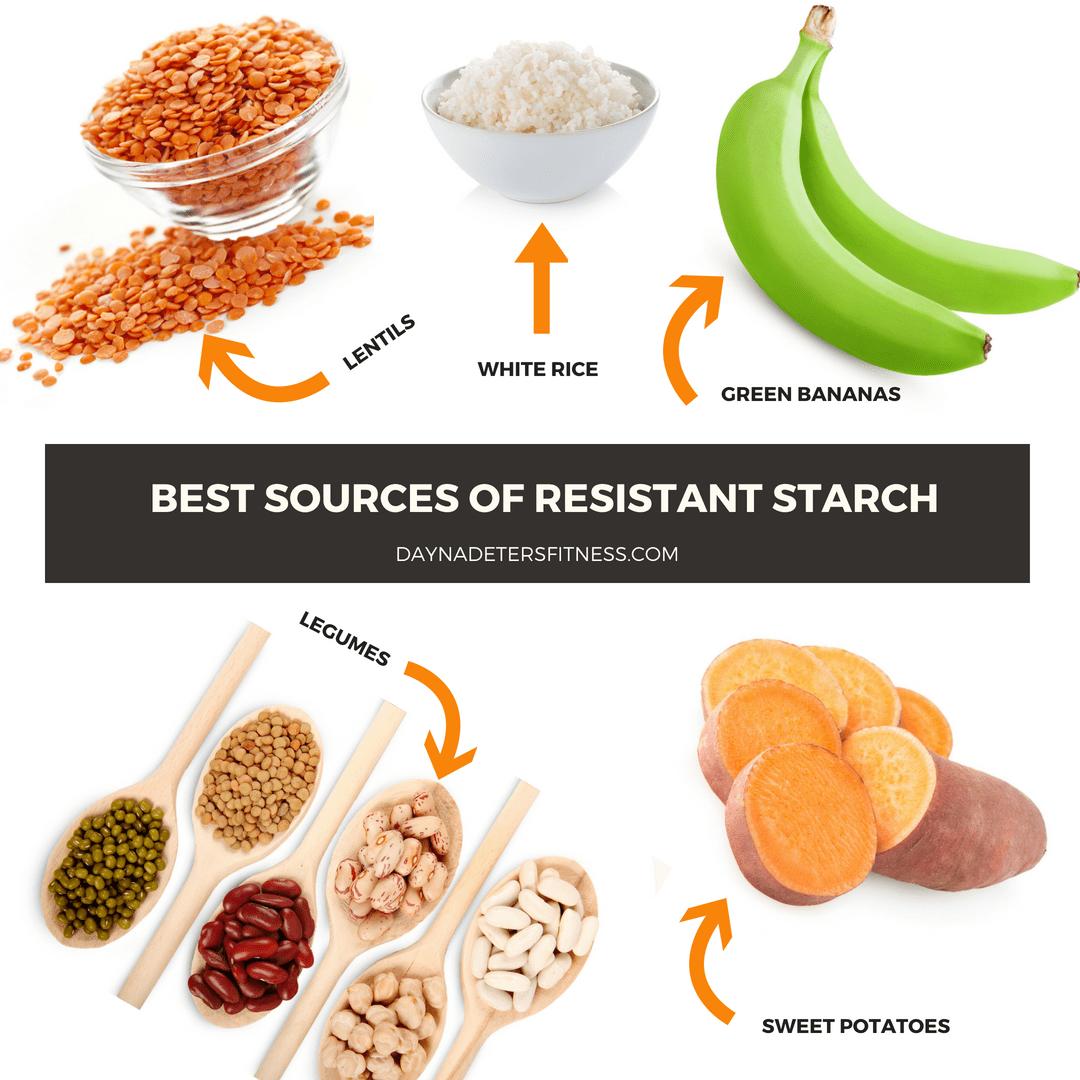 Продукты питания, богатые резистентным крахмалом