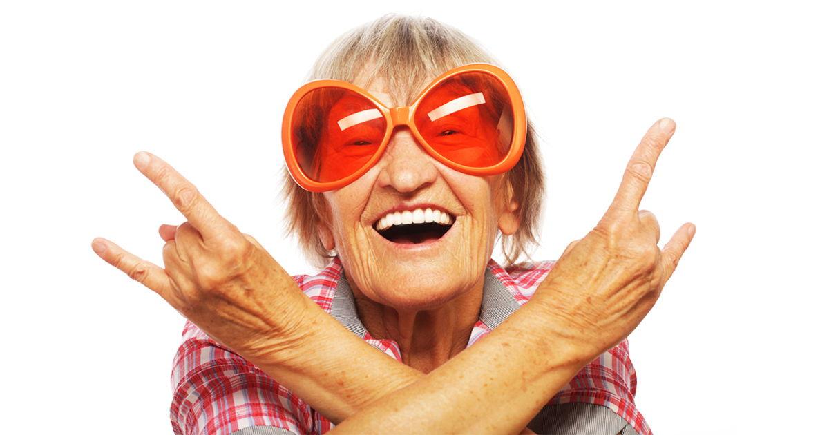 Оптимизм - секрет долгодителей