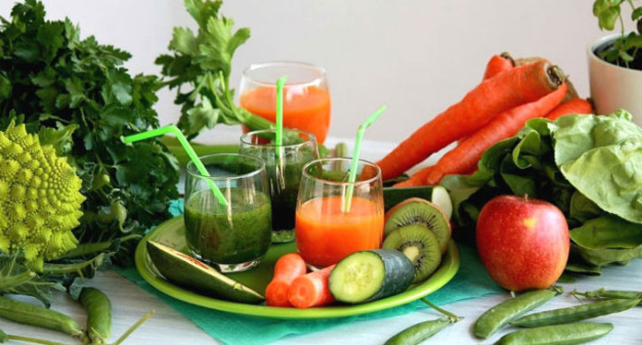 чтобы похудеть нужно есть много овощей