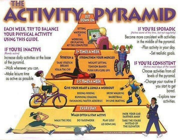 Пирамида физической активности
