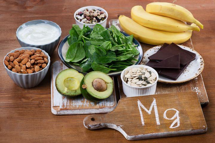 Продукты питания богатые содержанием магния