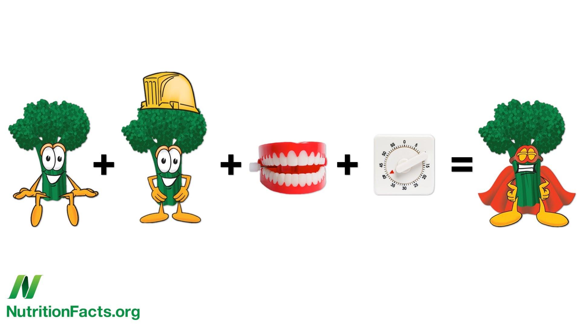 Как резать брокколи