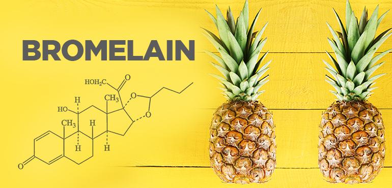 Основной источник бромелайна - ананас