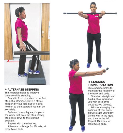 Физические упражнения при болезни Паркинсона