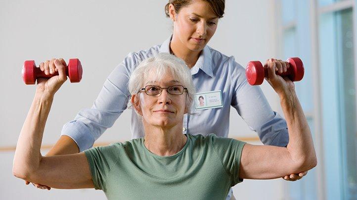 Физические упражднения при болезни Бехтерева