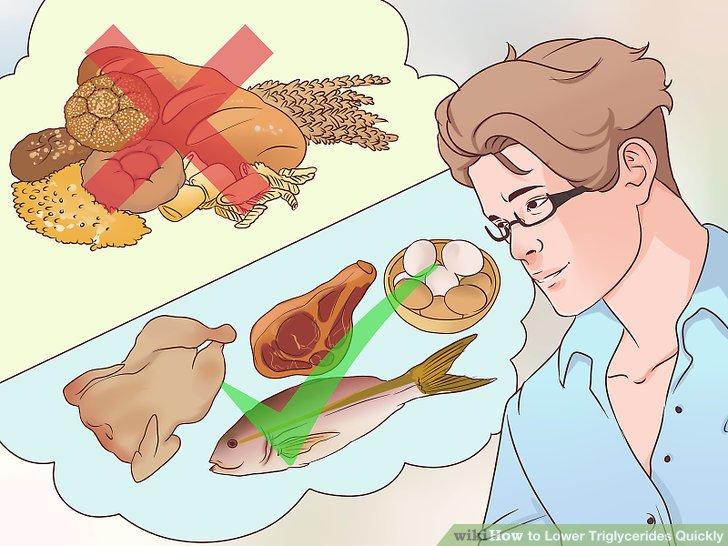 Предпочтительные продукты питания для снижения уровня триглицеридов