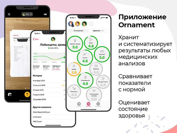 Бесплатное приложение Ornament