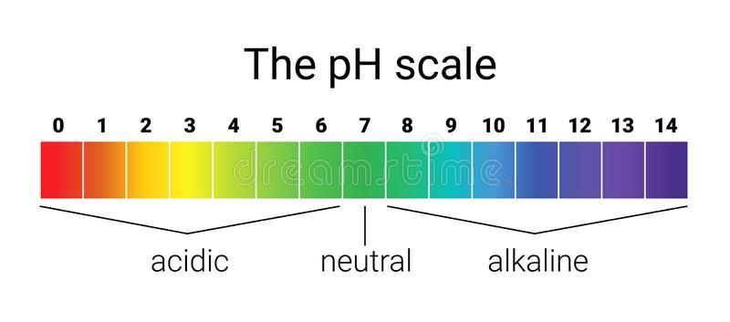 Шкала кислотно-щелочного pH баланса