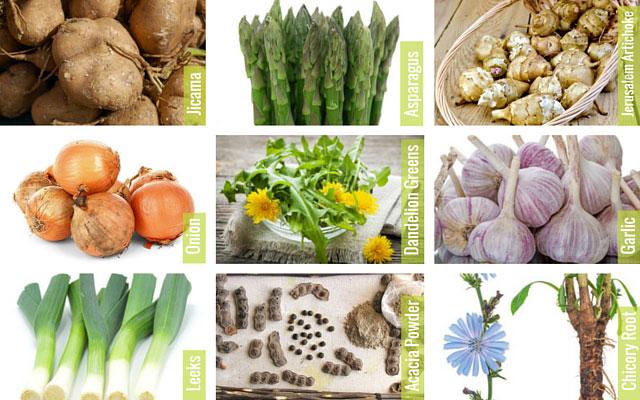 Лучшие продукты-пребиотики