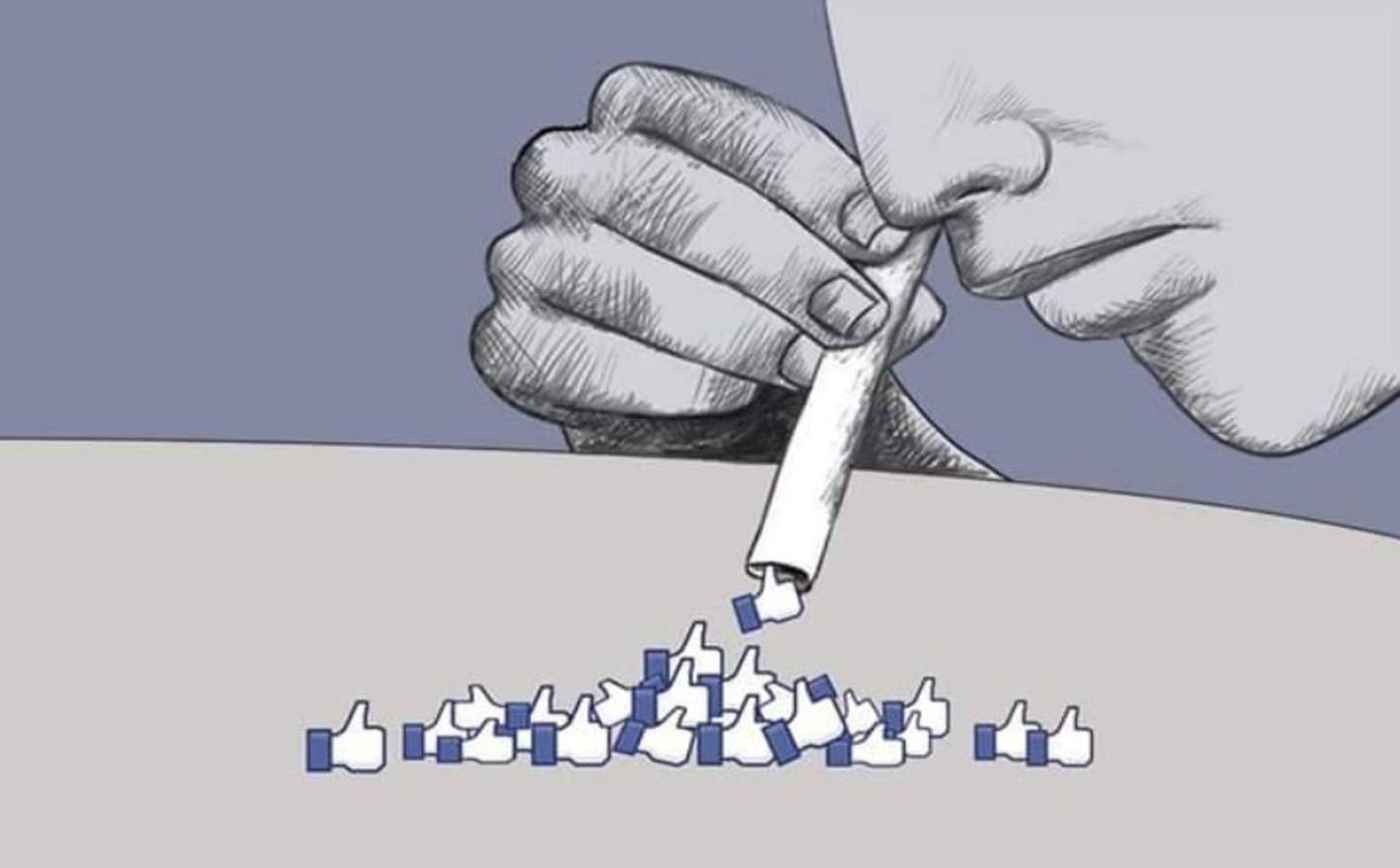 Социальные сети стимулируют выброс дофамина