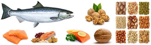 Источники полиненасыщенных жиров