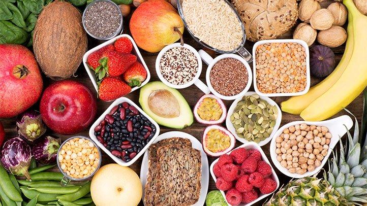 Продукты питания, богатые клетчаткой