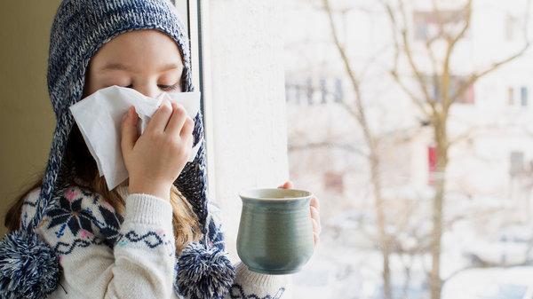 Мёд лечит кашель у детей