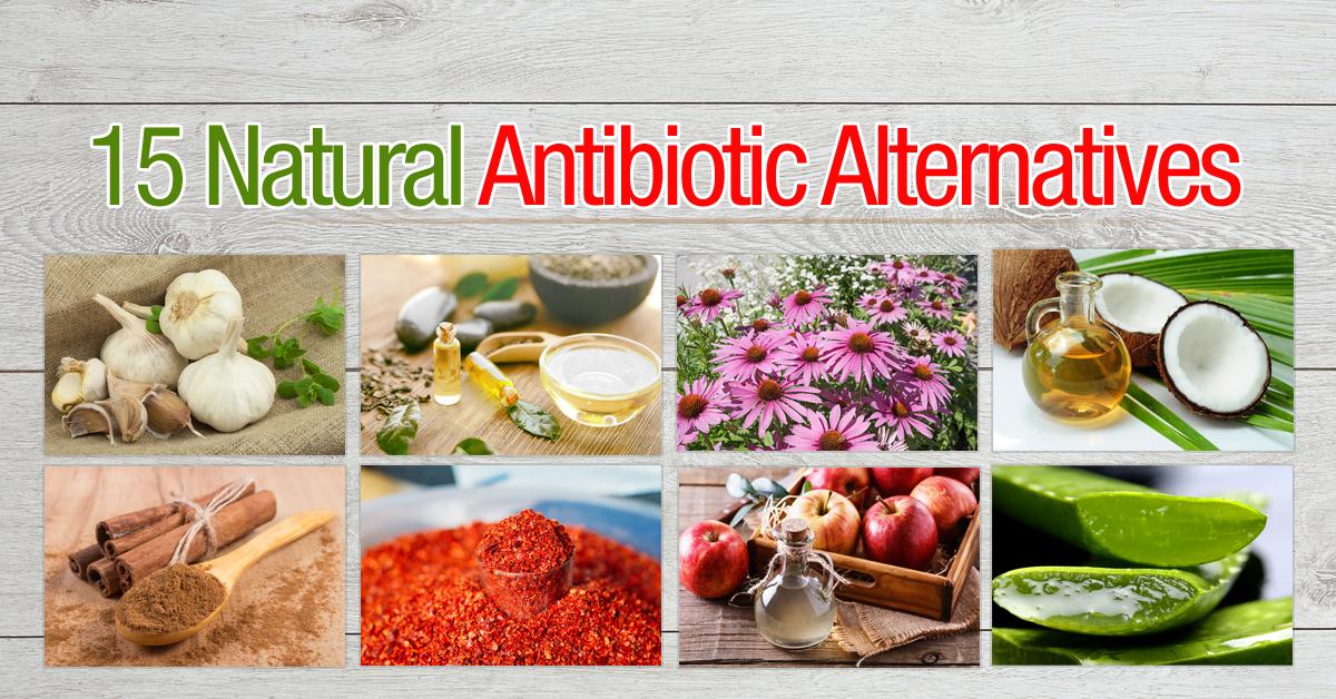 Натуральные вещества, действующие, как антибиотики