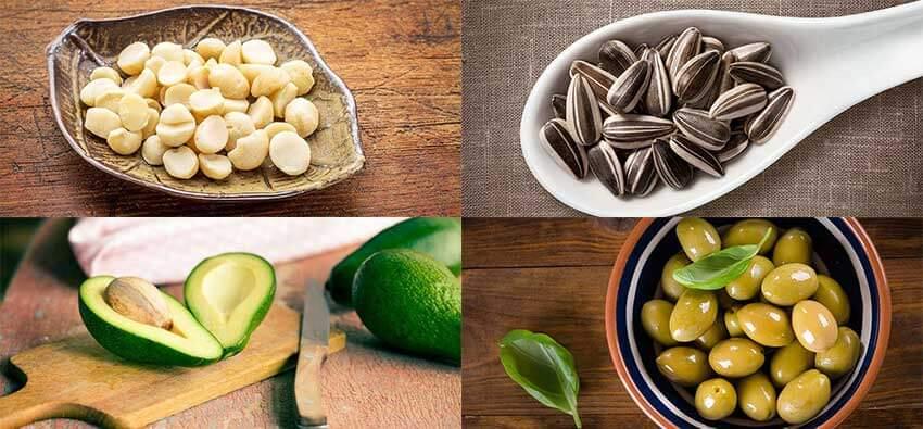 Растительные источники мононенасыщенных жиров