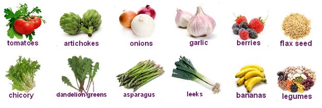Продукты питания, богатые пребиотиками