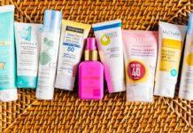 Ингредиенты солнцезащитного крема