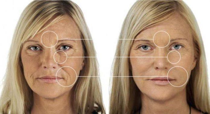 Улучшение состояния кожи при применении DMAE